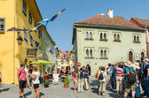 Sighisoara Medieval Fortress — Stock Photo