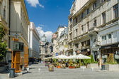 Downtown Old Center In Bucharest — Stock Photo