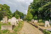 Protestan mezarlığı — Stok fotoğraf