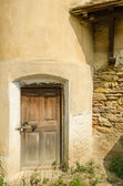 Old Fortress Tower Door — Stock Photo