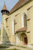 Evangelická opevněný kostel — Stock fotografie