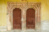 Church Vintage Door — Stock Photo