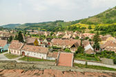 Medieval Town Aerial View — Stock Photo