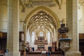 Biertan Fortified Church Interior — Stock Photo