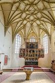 Fortified Church Interior In Transylvania — Stock Photo