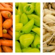 Fresh Vegetables Collection Set — Stock Photo #30995315