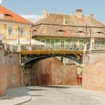 The Bridge Of Lies In Sibiu — Stock Photo