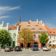 The Small Square In Sibiu — Stock Photo #31177819