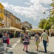 Sibiu Main Square — Stock Photo