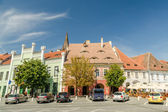The Small Square In Sibiu — Foto Stock