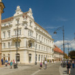 Sibiu City Downtown — Stock Photo