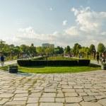 Parque Herastrau en Bucarest — Foto de Stock