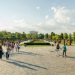 Herastrau park in Boekarest — Stockfoto