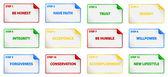 Twelve Steps Program — Stock Vector