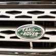 Stock Photo: Land Rover Sign