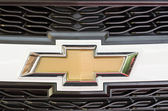 Chevrolet Sign — Stock Photo