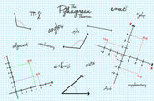 Mathematical School Class Background — Vecteur