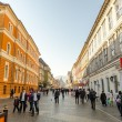 Brasov Main Street — Stock Photo
