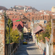 Medieval Street In Brasov — Stock Photo