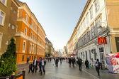 Brasov Main Street — Stock Photo