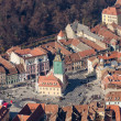 Council Town Square Aerial View — Stockfoto