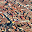 Brasov Aerial View — Stock Photo