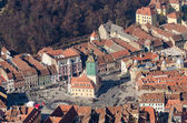 Council Town Square Aerial View — Stock Photo