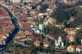 Brasov Aerial View — Stock Photo