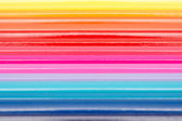 Anmalen bleistifte in regenbogen-linie angeordneten — Stockfoto
