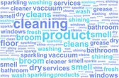 Cleaning Services Word Cloud Concept — Stock Vector
