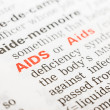 Aids Word Definition In Dictionary — Stock Photo #40903267