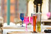 Oil And Vinegar Bottles — Foto de Stock