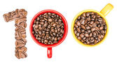 One Hundred Number Coffee Concept — Stock Photo