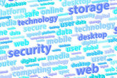 Cloud Storage Technology — Stock Photo