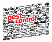 Pest Control For Bugs And Rodents — Stock Vector
