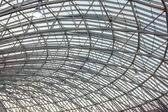 Steel Roof Structure — Stock Photo