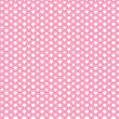 Pink Traditional Japanese Pattern — Stock Vector