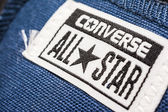 All Star Converse Sneakers Sign — Stock Photo