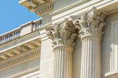 древнегреческий храм архитектура — Стоковое фото