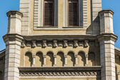 Lutheran Church Columns — Stockfoto
