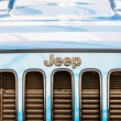 Jeep Wrangler Unlimited Sign — Stock Photo