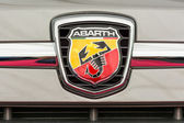 Abarth Sign — Stock Photo