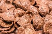 Breakfast Chocolate Corn Flakes — Stock Photo