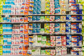 Toilet Paper And Kitchen Paper Towels — Stok fotoğraf