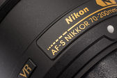 Nikon Lens For Digital Single Lens Reflex Camera — Stock Photo