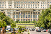 Palace of Parliament In Bucharest — Stock Photo