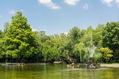 The Cismigiu Gardens In Bucharest — Stock Photo