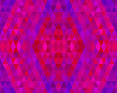 Purple Mosaic Tiles Abstract — Stock Vector