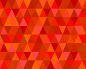 Red Mosaic Tiles Abstract Background — Vector de stock