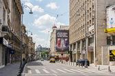 Overwinningslaan in Boekarest — Stockfoto